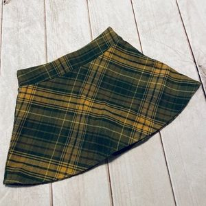 Cute Gymboree Flannel Skort